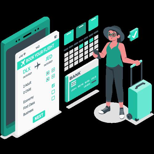 TravelCarma Flight Booking Engine