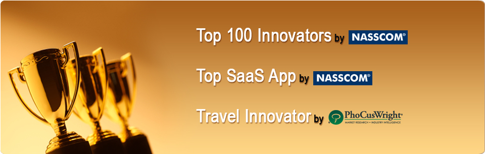 Hospitality Travel Software As A Services (SAAS) - Awarded by Nasscom