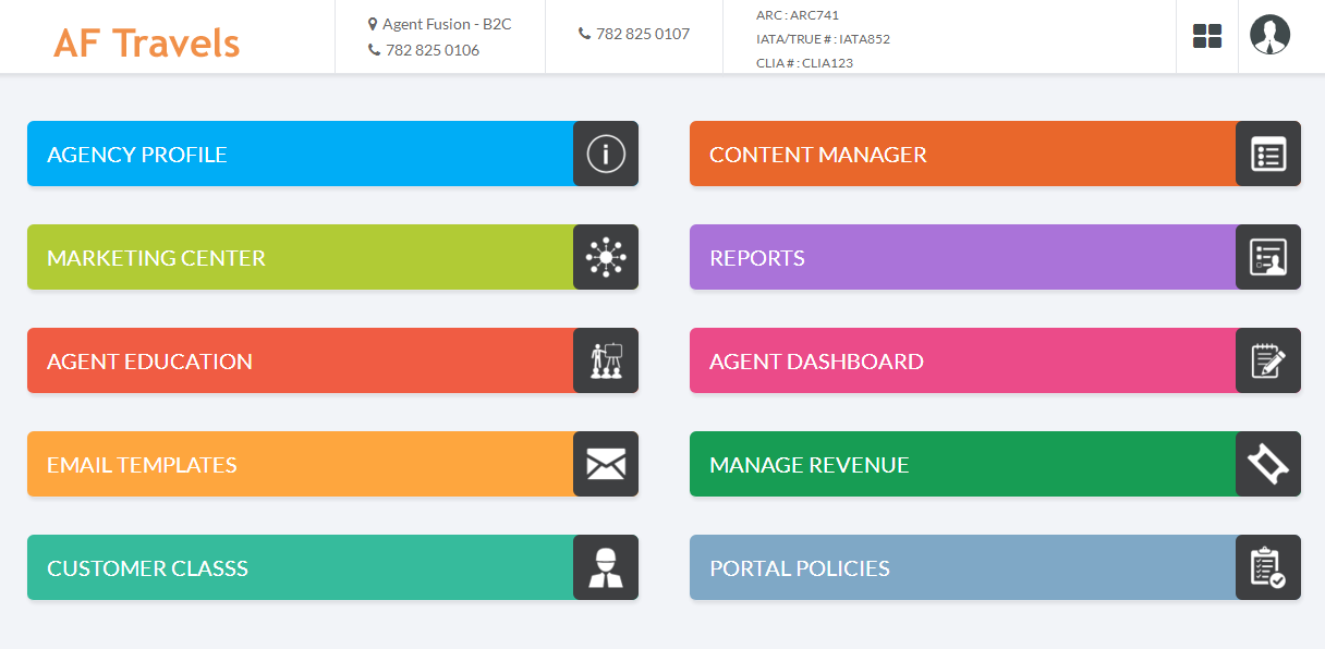 B2B Agent Management - Agent Dashboard