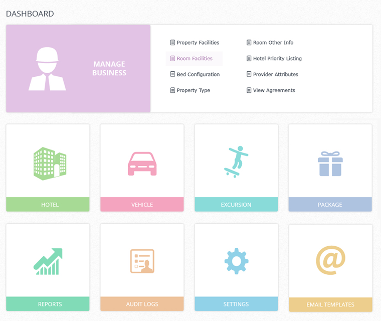 TravelCarma CRS Dashboard
