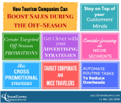 How tourism companies can boost sales during the off season