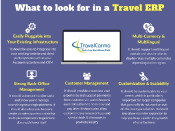 What To Look for in travel ERP