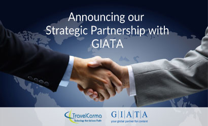 TravelCarma announces a strategic partnership with GIATA
