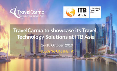 TravelCarma to Showcase its Travel Technology Solutions at ITB Asia 2019