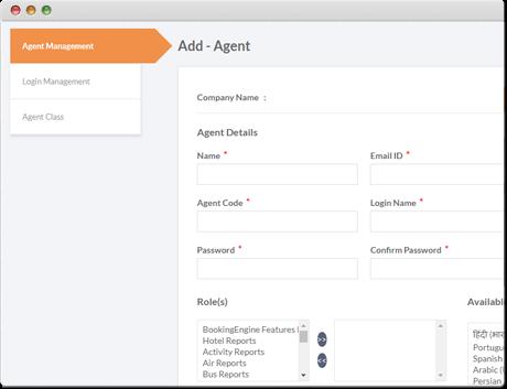 Configuración del agente TravelCarma