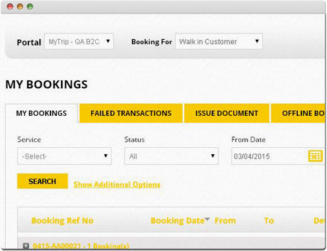 TravelCarma Agent Booking Report