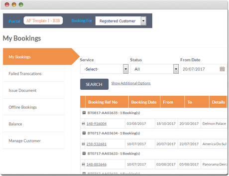 Tour Operator Software | Tour Booking Software | Agent Management