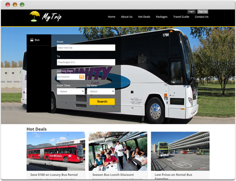 TravelCarma Online Bus Booking Portal