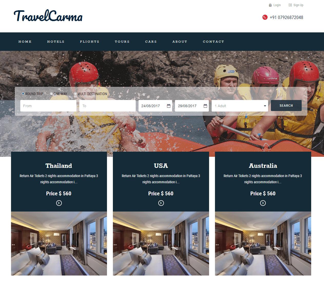 travel web portal | Yoktravels com