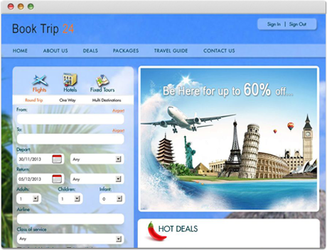 TravelCarma Tour Booking Engine