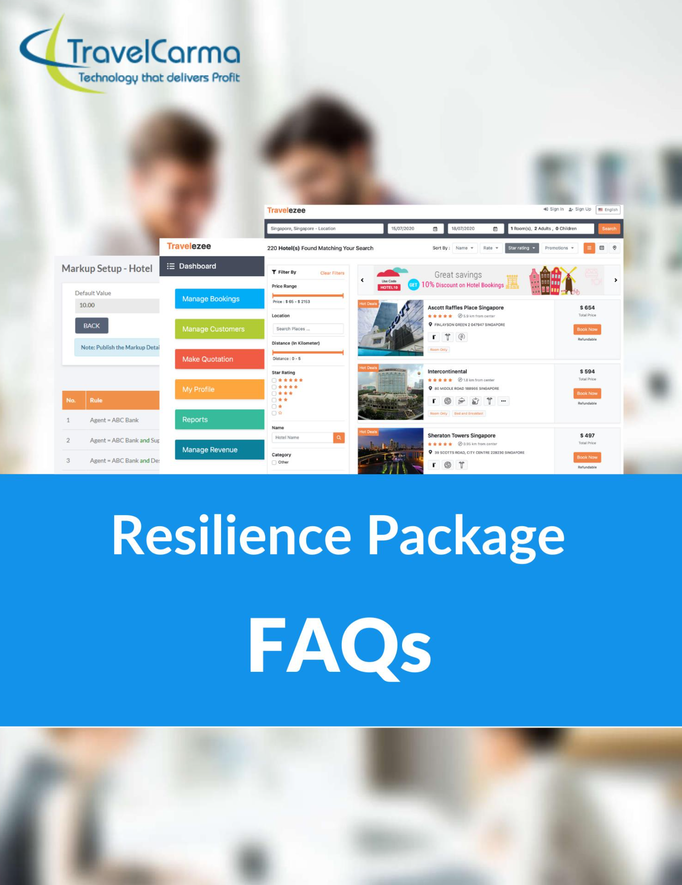 TravelCarma Resilience Package FAQs