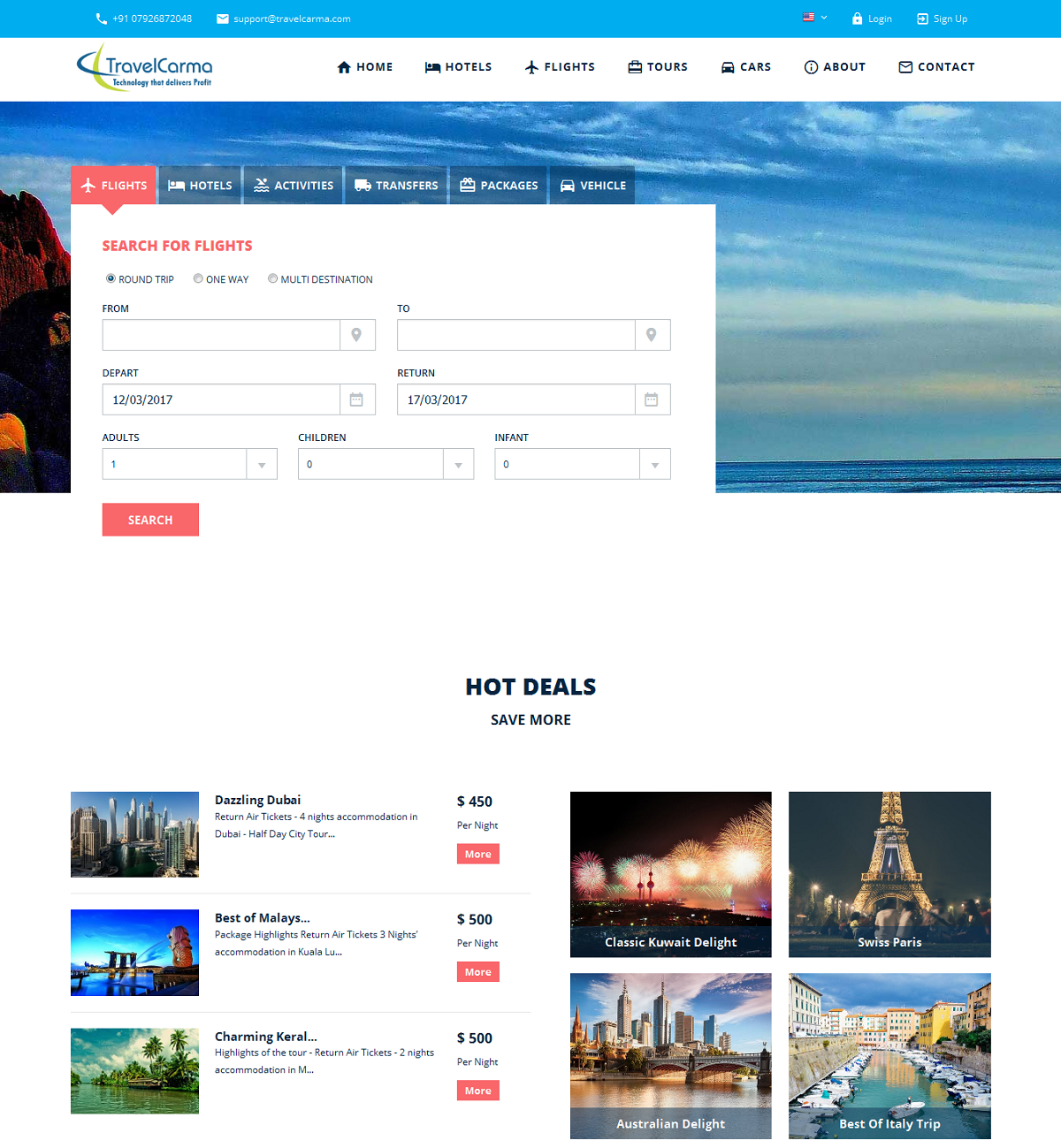 Travel ERP - B2C/B2B Booking Engines