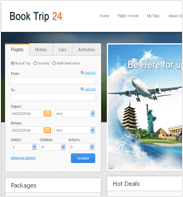 TravelCarma Demo Portal – Book Trip