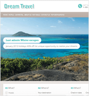 TravelCarma Demo Portal – Dream Travel