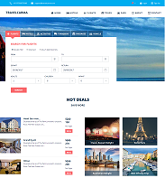 TravelCarma Demo Portal – Travel Deals